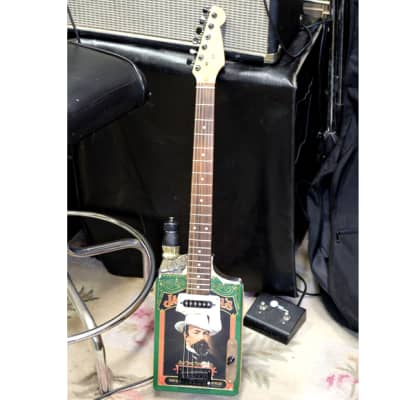 Whiskey Box 6 String Electric Guitar for sale