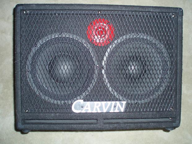 Carvin RL210T-Bass-Speaker-Cabinet-Red-Eye-USA-400-watts-2x10 | Reverb