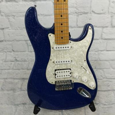 Indiana SSH Stratocaster Sparkle Blue for sale