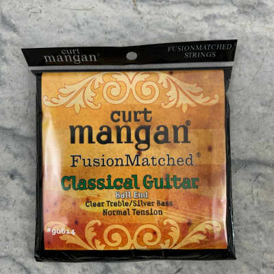 Curt Mangan 90614 Fusion Matched Classical Guitar Nylon Strings - Normal Tension Ball End