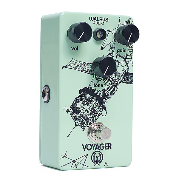 walrus audio voyager preamp overdrive guitar effects pedal reverb. Black Bedroom Furniture Sets. Home Design Ideas