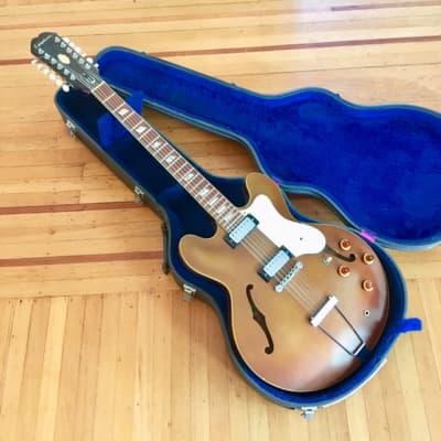 Epiphone Riviera XII c 1966 Sparkling burgundy 12 string electri guitar original vintage usa gibson kalamazoo for sale