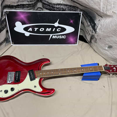 Fullerton FME-204 MoVibe P90s Guitar Metallic Candy Apple Red for sale