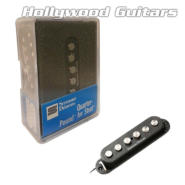 SEYMOUR DUNCAN STRAT REPLACEMENT QUARTER-POUND STAGGERED RWRP SSL-7-rwrp
