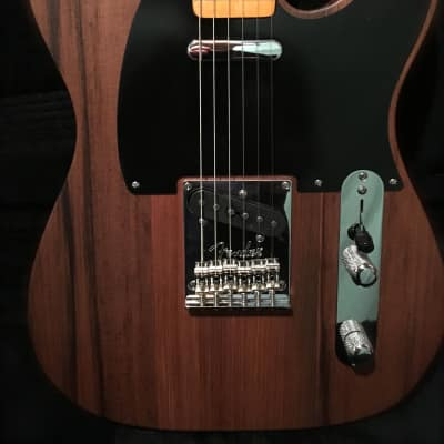 """Fender """"Tele-bration"""" Limited Edition 60th Anniversary Old Growth Redwood Telecaster 2011"""