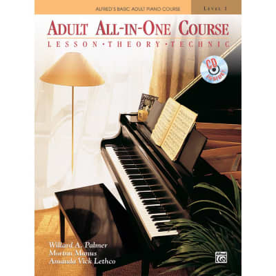 Alfred's Adult All-In-One Course - Book 1 (w/ CD)
