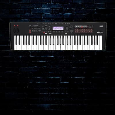 Korg KROSS 2 - 61-Key Performance Synthesizer Workstation - Black - Free Shipping