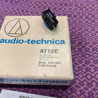 Audio-Technica AT12E Phono Cartridge Elliptical Stylus Original Box Audiophile Record Vinyl Player T