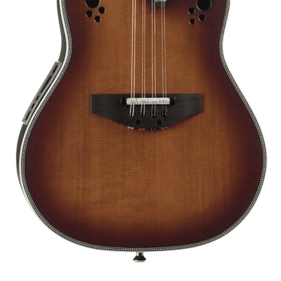 Ovation Americana Pro Series Mandolin - Distressed Sunburst - MM68AX-DS w/Case for sale
