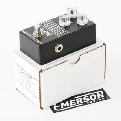 2016 Emerson Custom Paramount Hand-Wired Overdrive Effects Pedal Distortion Box - Like New in Box! for sale
