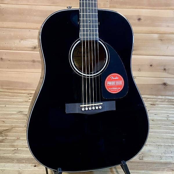 fender cd 60 v3 acoustic guitar w case black reverb. Black Bedroom Furniture Sets. Home Design Ideas