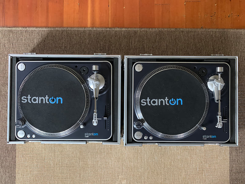 Strange Pair Of Stanton T 60 Direct Drive Turntables W Road Ready Stackable Turntable Flight Case Combo Download Free Architecture Designs Meptaeticmadebymaigaardcom