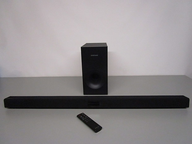 samsung hw j355. samsung hw-j355 wireless audio soundbar speaker system with ps-ew1-2 sub, remote, manual hw j355
