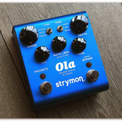 """Strymon  """"Ola DBucket Chorus & Vibrato"""""""