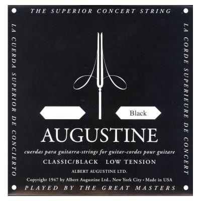 Single Augustine Silver Nylon Light Tension 6th E