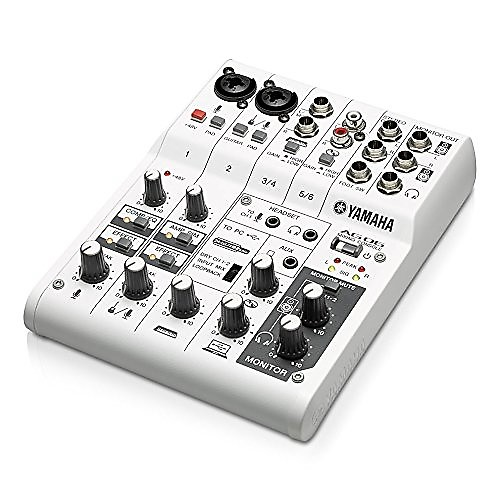 yamaha ag06 recording mixer with ts to ts guitar cable rca reverb. Black Bedroom Furniture Sets. Home Design Ideas