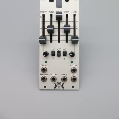 Michigan Synth Works SY0.5 Analog Drum Module 2018 Natural Aluminum
