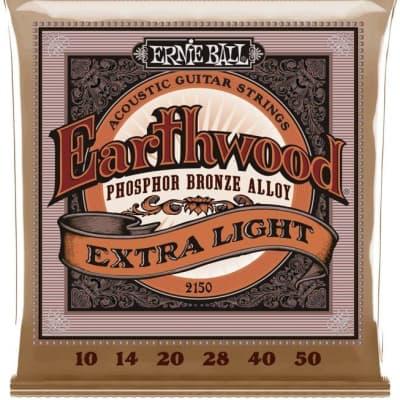 Ernie Ball Phosphor Bronze Acoustic Strings - Extra Light