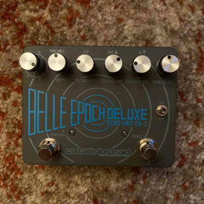 Catalinbread Belle Epoch Deluxe CB3 Dual Tape Echo Emulation