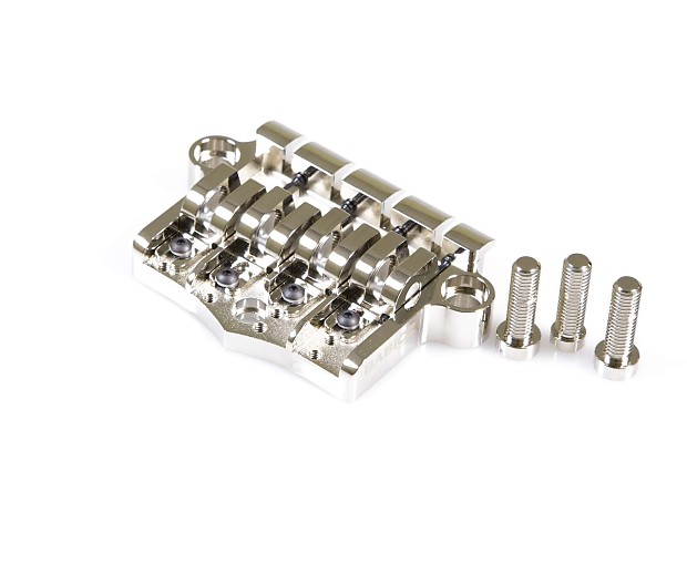 babicz full contact hardware 3 point bass bridge nickel reverb. Black Bedroom Furniture Sets. Home Design Ideas