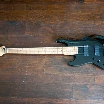 Valenti SMJ5 #82 left handed 5 string modern Jazz bass. EMG pickups, Aguilar OPB-1, Hipshot hardware for sale