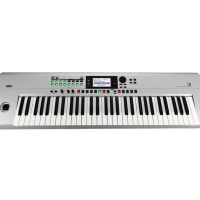 Korg i3 Music Workstation - Matte Silver - Gently Used