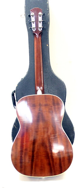 Rare Goya S-14 60s Antique Natural Steel String Right Hand in Hard Case