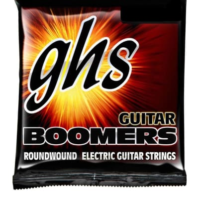 GHS GBCL Guitar Boomers Roundwound Electric Guitar Strings - Light (09-46)