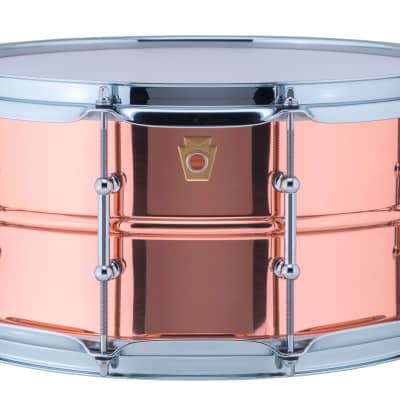 Ludwig LC662T Copper Phonic 14x6.5 Smooth Kit Snare Drum w/Tube Lugs MAKE OFFER!   Authorized Dealer