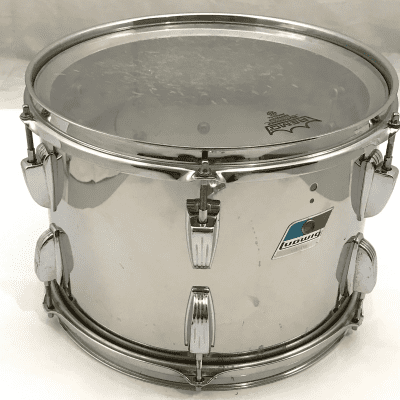 """Ludwig 9x13"""" Stainless Steel Mounted Tom"""