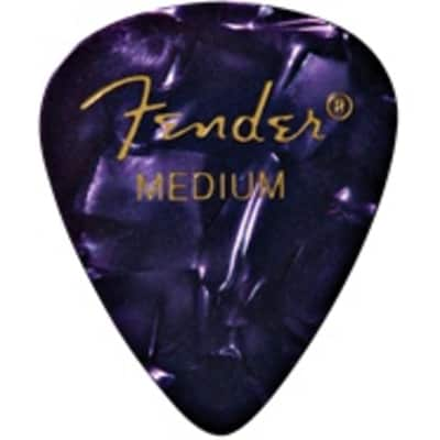 Fender Purple Moto Medium Picks, 12-pack for sale