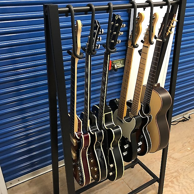 Guitar Bar Hanger Display Electric Acoustic 4 String Base Banjo Mandolin...Closet, Rack or Custom..