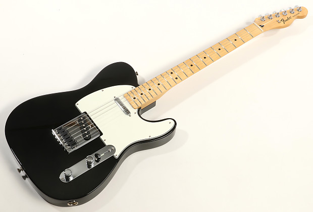 Fender Standard Telecaster 2016 Black Maple Fingerboard