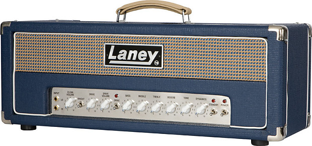 laney lionheart l50h 50 watt class a tube guitar amp head reverb. Black Bedroom Furniture Sets. Home Design Ideas