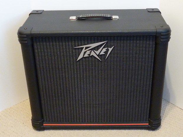 2004 usa peavey 112sx extension cabinet with 1 12 sheffield reverb. Black Bedroom Furniture Sets. Home Design Ideas