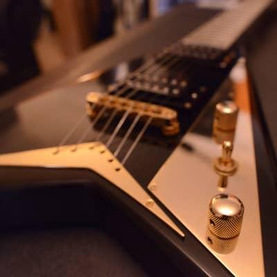 Jackson Pro Randy Rhoads RRT-5 RR5 Neck-Thru Black Gold Seymour Duncan for sale