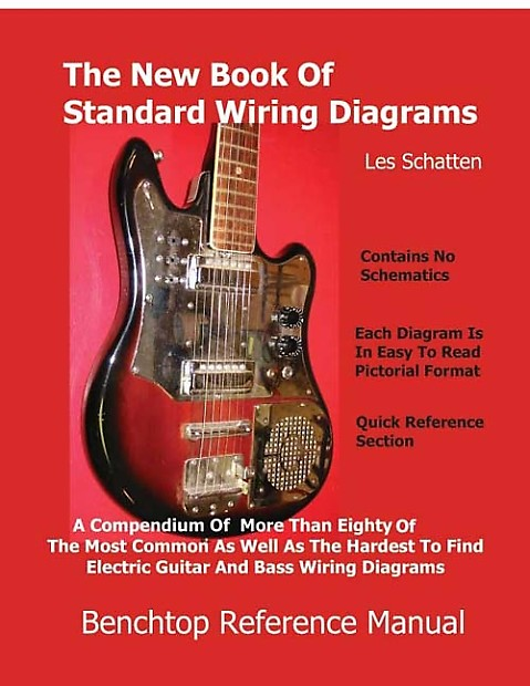 Schatten Book Of Standard Wiring Diagrams For Guitar And Bass Reverb