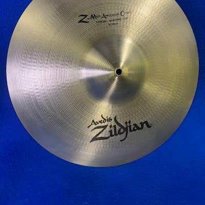 "Zildjian Avedis 16""/40CM Z-MAC(Multi-Application Cymbal)Single Concert Marching Or Jazz Cymbal"