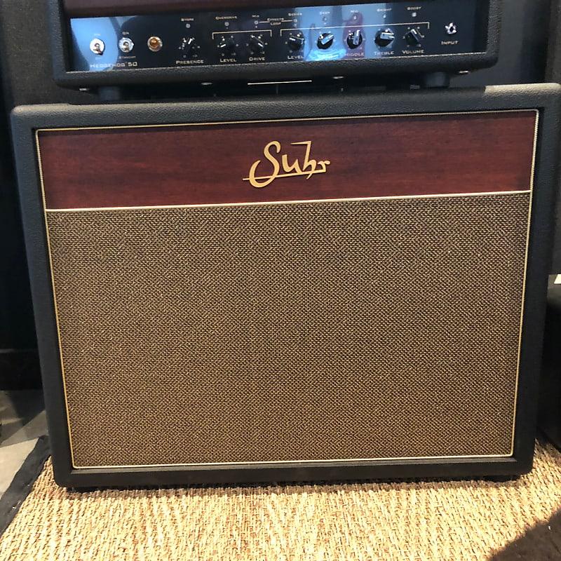 """Suhr Hedgehog 2X12"""" Guitar Speaker Cabinet 2010s Brown/Gold image"""