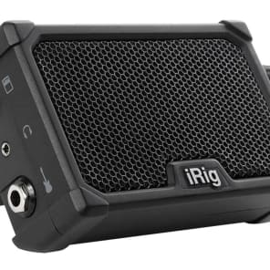 IK Multimedia Battery-Powered Micro Amplifier & Interface for Mobile Devices iRig Nano Amp