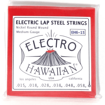 Asher Electro Hawaiian Lap Steel Strings for 6-String Lap Steel 2020 for sale