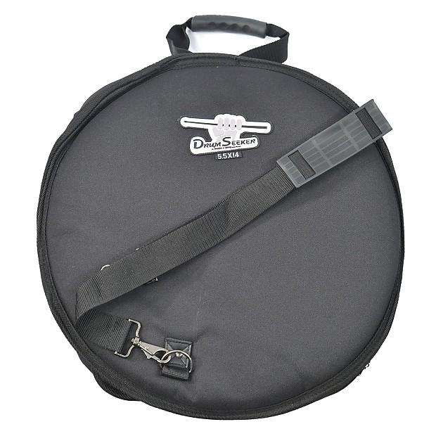 humes berg drum seeker snare drum bag case reverb. Black Bedroom Furniture Sets. Home Design Ideas