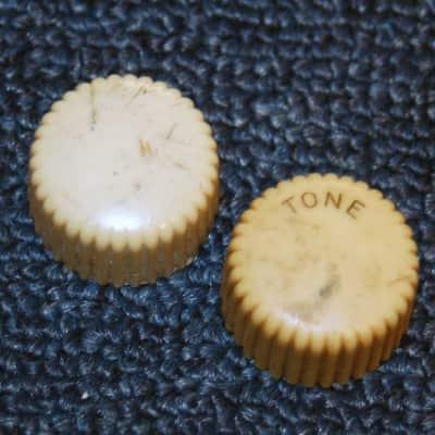 Vintage Original 1950 Harmony Mushroom Knobs