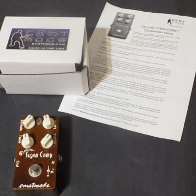 CMATMods Deluxe Signa Comp Compressor Pedal w/ Original Box + User Guide