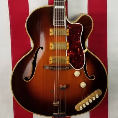 1952 Epiphone Zephyr Emperor - NY Pickups - Perfect Pickguard - With Original Case & Canvas Cover for sale