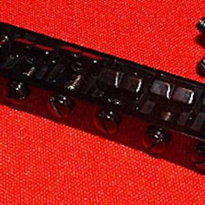 Guitar Parts Tune-o-matic BRIDGE Tuneomatic - BLACK