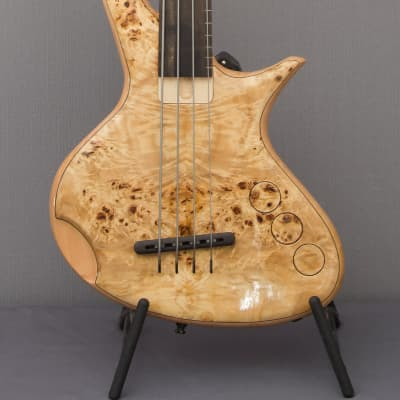 CG Lutherie Orchid fretless for sale