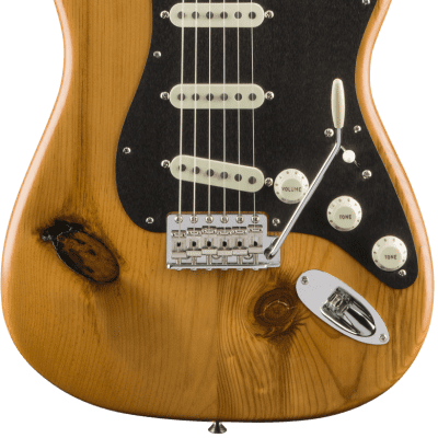 Fender '17 Limited Edition American Vintage '59 Pine Stratocaster Natural Finish Guitar With Case for sale