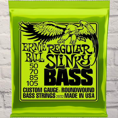 Ernie Ball EB2832 Regular Slinky Medium 4 Bass Strings 50-105
