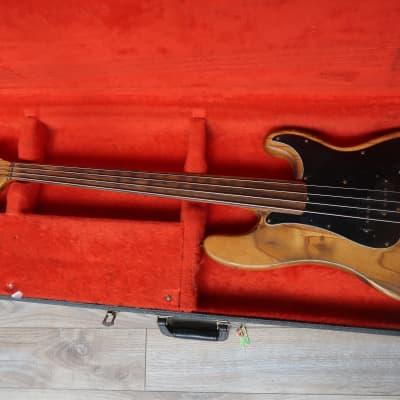 Fender  Precision  1976 Fretless Rosewood fingerboard USA Vintage bass w/ case